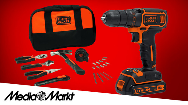 Black+Decker BDCDC18HTSA © Media Markt