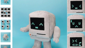 Macintosh Classic als Plüschfigur©Classicbot