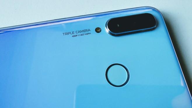 Huawei P30 Lite New Edition©COMPUTER BILD / Michael Huch