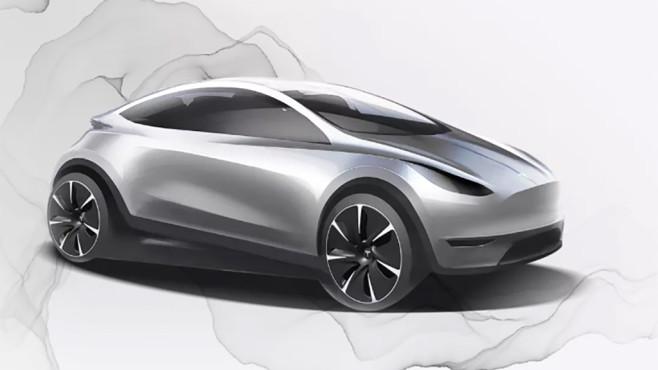 Konzeptzeichnung Tesla©Screenshot