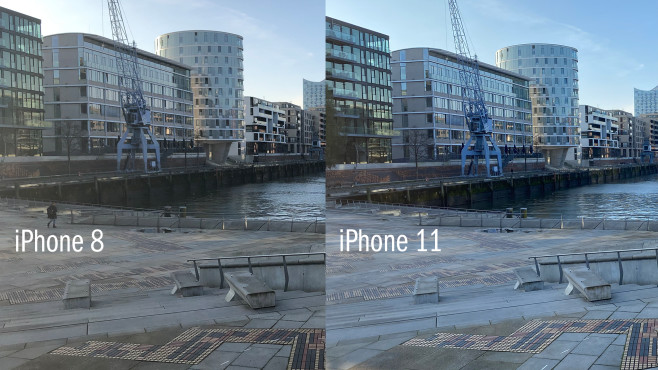 iPhone 8 vs. iPhone 11 © COMPUTER BILD
