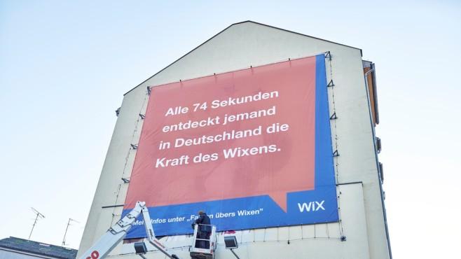 Wix-Plakatkampagne©Wix