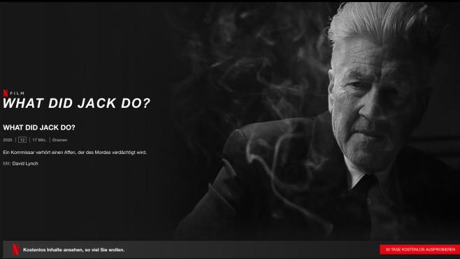 What Did Jack Do?: Netflix-Seite©Netflix
