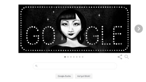 Google Doodle: Anna May Wong©Google