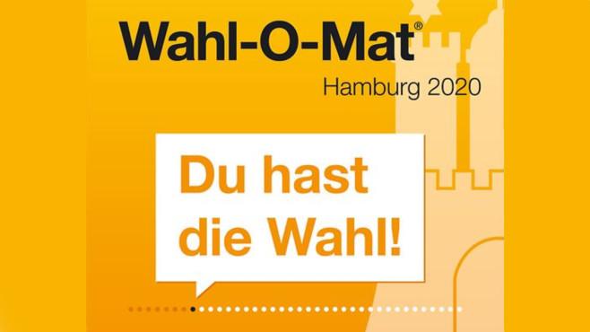 Wahl-O-Mat©Landeszentrale für Politische Bildung Hamburg