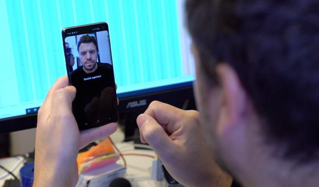 Samsung Galaxy S10 Gesichtserkennung©COMPUTER BILD
