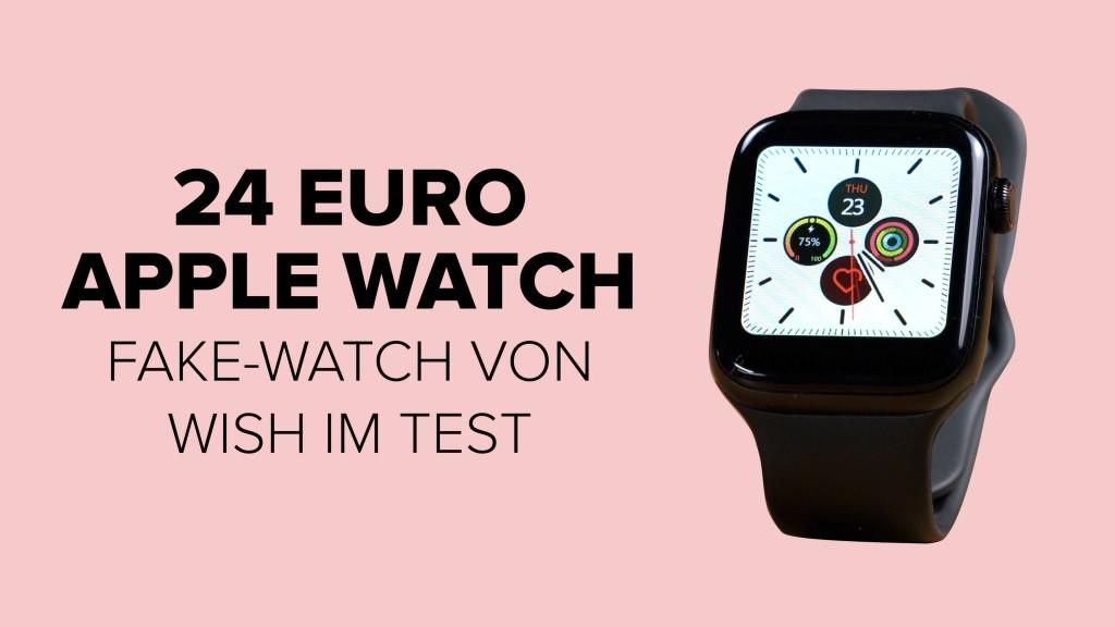 Apple-Watch-Klon: Dreiste Kopie von Wish im Check