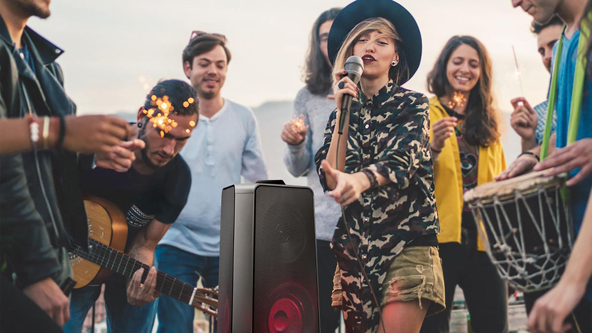 Samsung Giga Party Audio MX-T70 im Test©Samsung