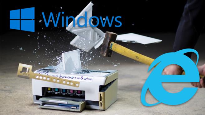 IE-Sicherheitslücke: Microsoft legt Druckfunktion nahm©iStock.com/simonkr, Microsoft