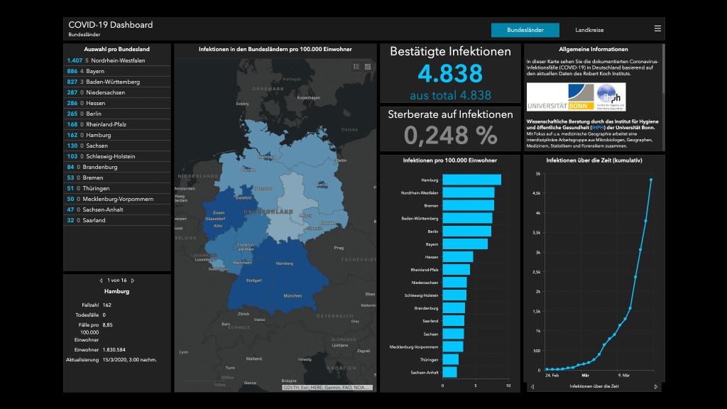 Corona Karte Deutschland Weltweit Falle Aktuell Computer Bild