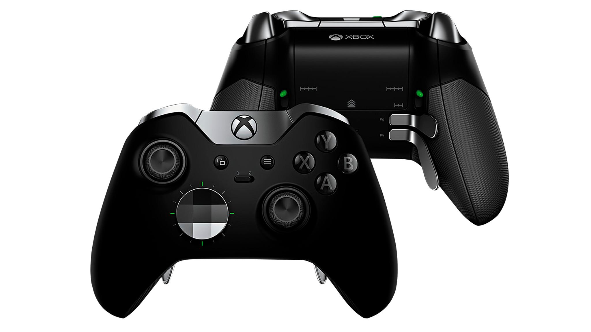 Test: Microsoft Xbox One Elite Wireless Controller Series 2©Micorosft