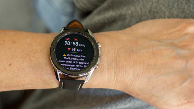 Galaxy Watch 3 Blutdruck©COMPUTER BILD