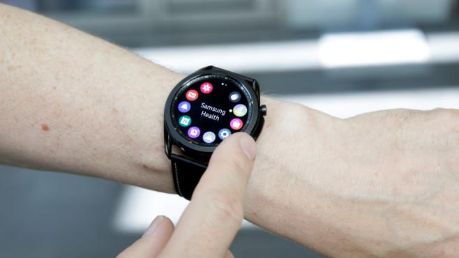 Galaxy Watch 3: Die Lünette©COMPUTER BILD