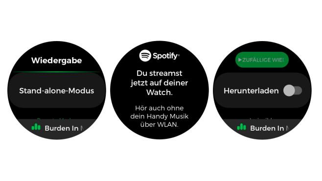 Spotify Standalone©Screenshots: COMPUTER BILD