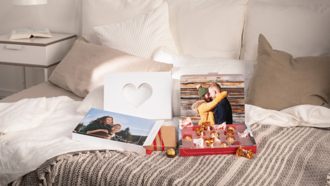Cewe Foto-Geschenkbox von Ferrero©Cewe