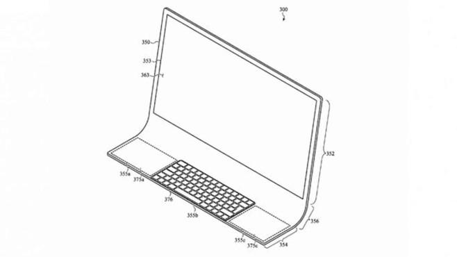 iMac 2020©Apple / appft.uspto.gov