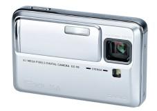 """Die """"Casio Exilim V8"""" ist mit einem siebenfachem Zoom ausgestattet."""