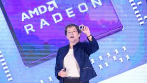 Dr. Lisa Su präsentiert neuen Prozessor.©AMD
