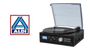Schallplatten- und Kassettendigitalisierer Medion MD 43713©Aldi Nord