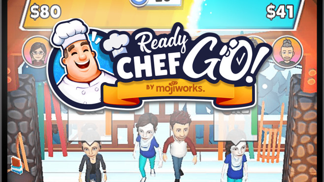 Mojiworks Ready Chef Go! für Snapchat©Mojiworks / Snapchat