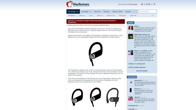 Powerbeats Pro, 3, 4©Screenshot via MacRumors