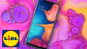 Samsung Galaxy A20e bei Lidl©Samsung, Lidl, iStock.com/supermimicry