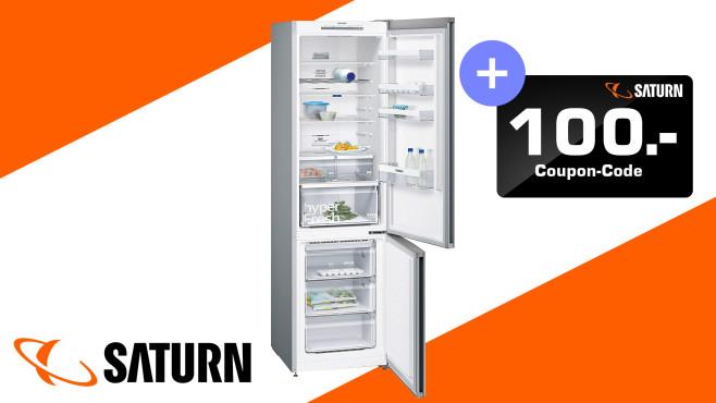 Kühl-Gefrierkombination von Siemens bei Saturn zum Top-Preis©Saturn, Siemens