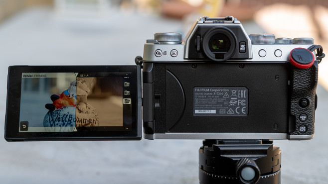 Fujifilm X-T200 Filmsimulation©COMPUTER BILD