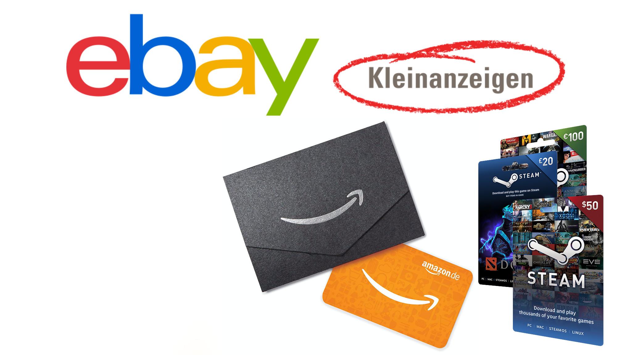 Ebay Kleinanzeigen Betrug Mittels Gutscheinkarten Computer Bild