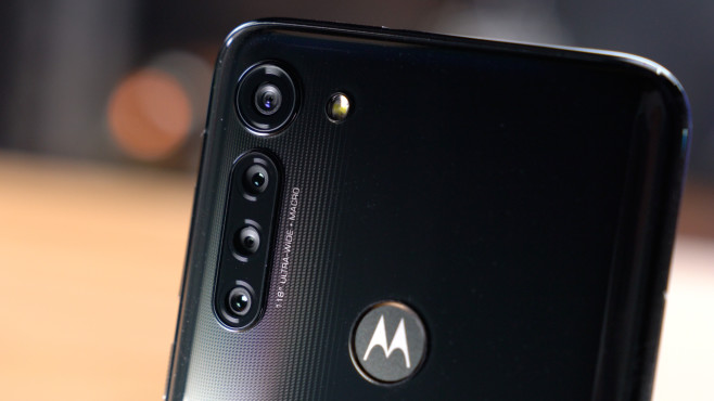 Motorola G8 Power: Rückseite Nahaufnahme©COMPUTER BILD