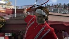 Top Spin 3 Perfekte Haltung beim Schlag: So schön spielt Roger Federer.