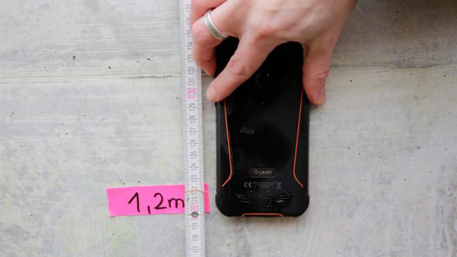 GX290 bei 1,2 Meter Höhe©COMPUTER BILD