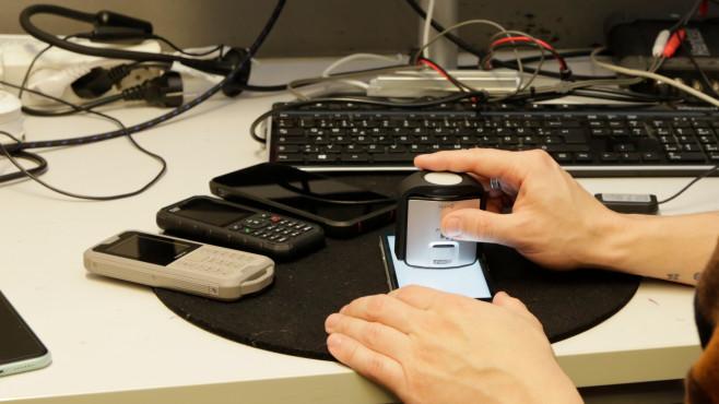 Messinstrument für Bildschirm-Helligkeit©COMPUTER BILD