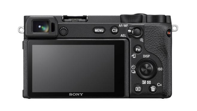 Sony Alpha 6600 Rückseite©Sony