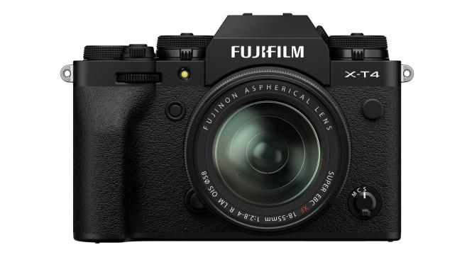 Fujifilm X-T4 Profi-Systemkamera©Fujifilm