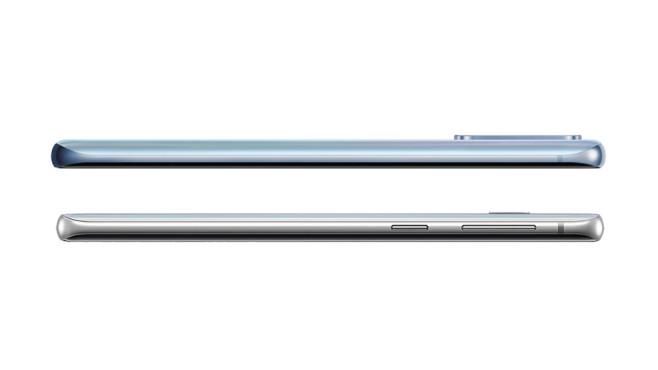 Samsung Galaxy S10 und S20 jeweils von der Seite©Samsung