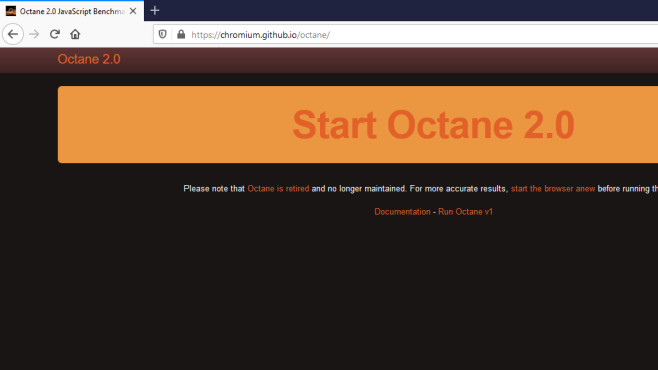 Octane 2.0 (JavaScript Benchmark) ©COMPUTER BILD