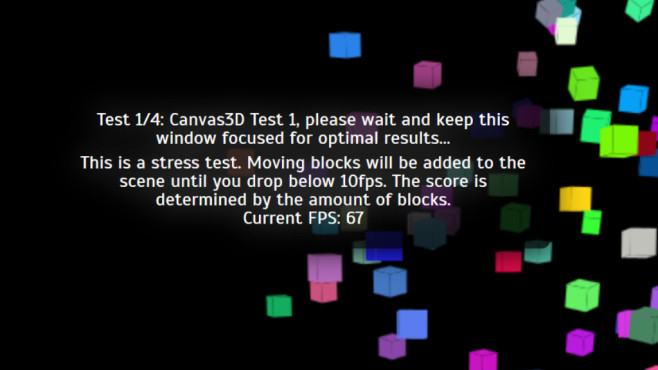 Wirple (HTML5-3D-Benchmark)   Total-Score-Werte ©COMPUTER BILD