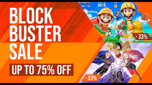 Blockbuster-Sale bei Nintendo©Nintendo, Twitter