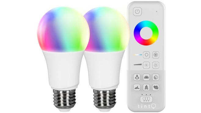 Tint-Starterkit mit Lampen und Fernbedienung©Müller-Licht