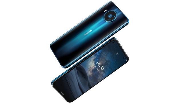 Nokia 8.3 Vorne und hinten©HMD Global