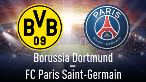 Champions League: BVB - PSG©Borussia Dortmund, FC Paris Saint Germain, iStock.com/efks