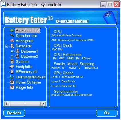 Screenshot 1 - Battery Eater Pro