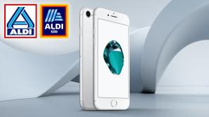 iPhone 7 bei Aldi©Aldi, Apple, iStock.com/polesnoy