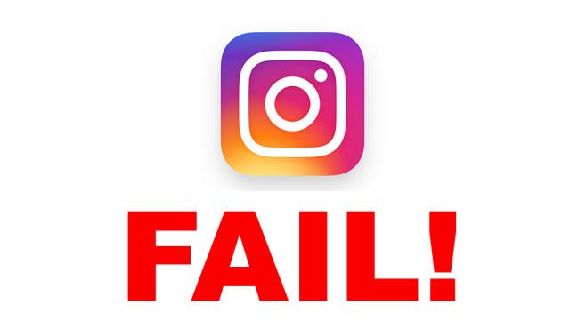 Instagram-Fails©Instagram
