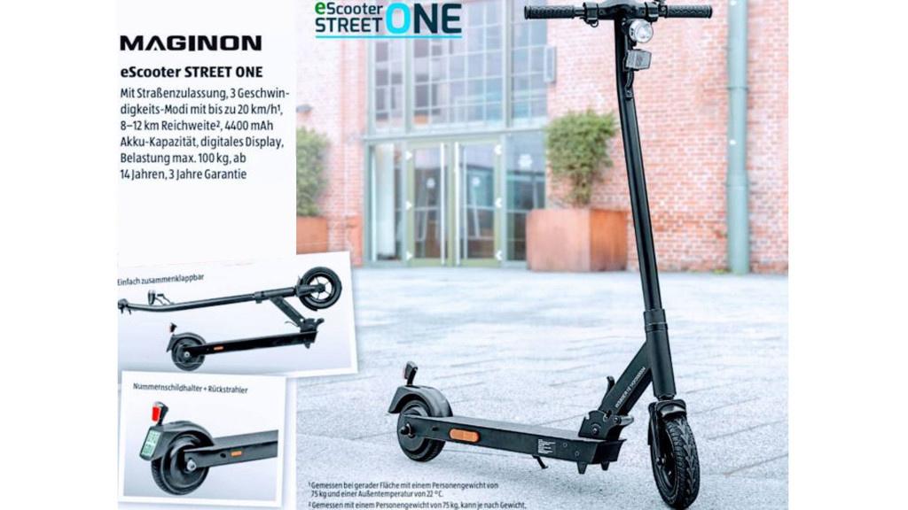 Aldi-Scooter: E-Roller erstmals für unter 200 Euro im Angebot!