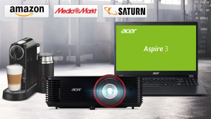 Amazon, Media Markt, Saturn: Die Top-Deals des Tages! © Media Markt, Saturn, Amazon, iStock.com/Hiraman, Acer, De'Longhi