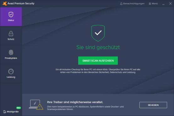 Avast Premium Security©COMPUTER BILD