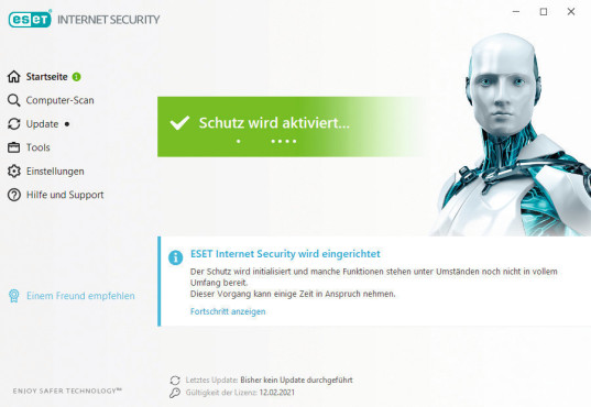 Eset Internet Security©COMPUTER BILD