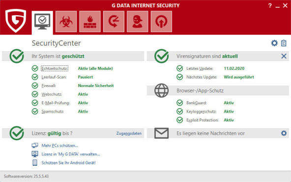 G Data internet Security©COMPUTER BILD